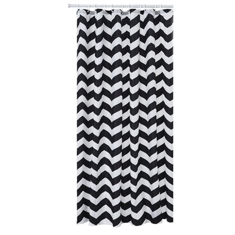 black chevron curtains wilko chevron shower curtain black at wilko com
