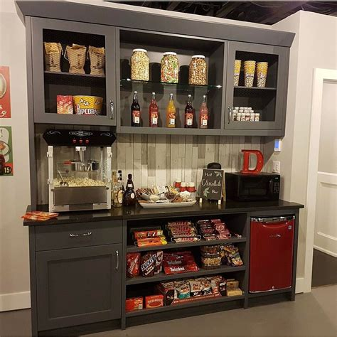 snack bar  home  theater home theater design