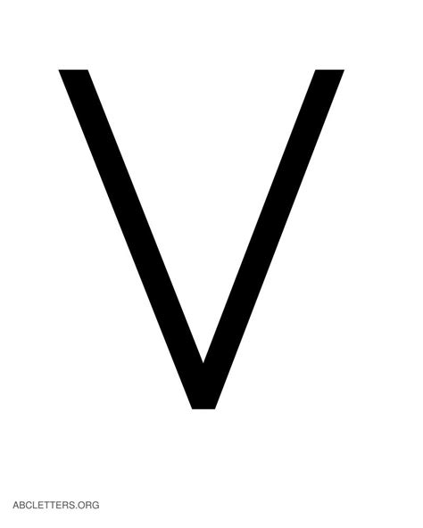 Letter V white letter v pictures to pin on pinsdaddy
