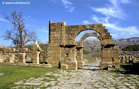 consolato tunisia roma algeria la citt 224 romana di djemila motortravel