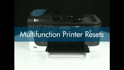 Reset Hp Officejet J6480 All In One | ripristino hp officejet 4500