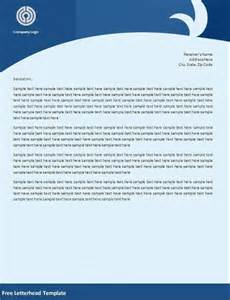 how to create a letterhead template in word 32 word letterhead templates free sles exles