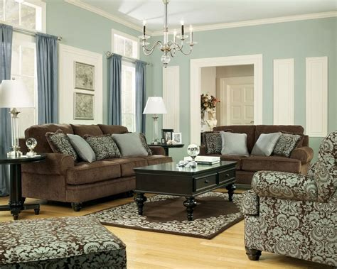 Chocolate Brown Couches Living Room - brown leather couches in living room living room