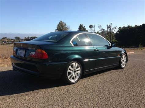 2002 bmw 330ci coupe for sale purchase used 2002 bmw 330ci green and sports coupe in