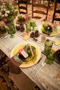 garden wedding fall wedding table decoration ideas