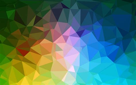 polygon pattern vector download 3840x2400 colorful polygons pattern wallpaper