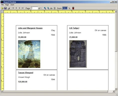small art antique gallery organizer pro simple database