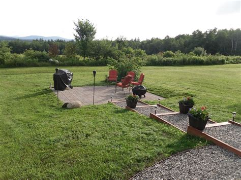 building a paver patio on a hill diy patio installation how to build a paver patio
