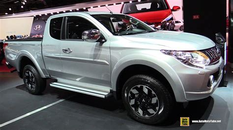 mitsubishi triton club mitsubishi triton club cab review auto cars