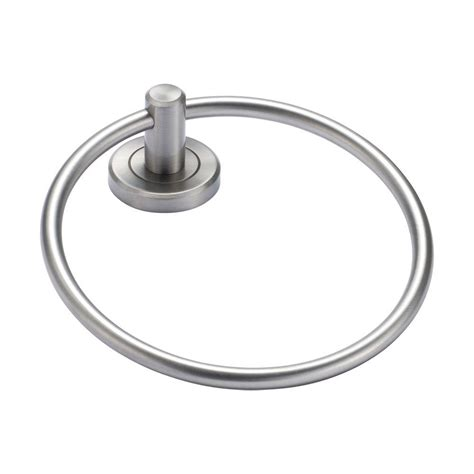 Gatco Latitude Faucet by Gatco Latitude Ii Towel Ring In Satin Nickel 4292 The