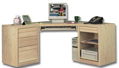 desk with file cabinets furniture unfinished wood desk with partial glass top and five drawers solid metal legs