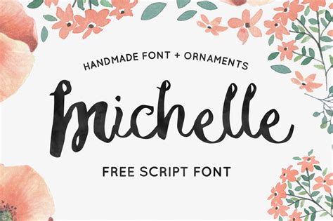 Handcrafted Font - free handmade script font free fonts