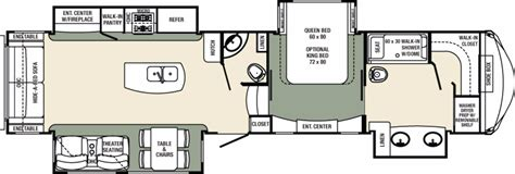 columbus rv floor plans 2017 forest river columbus 383fb cing world of myrtle beach 1316273