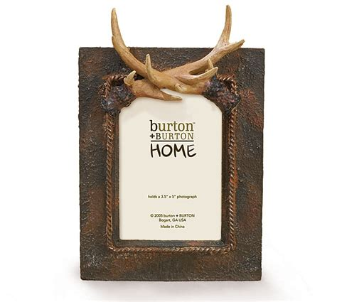7 Great Gifts For Hunters by Our Burtonandburton Deer Antlers Picture Frame Is Great