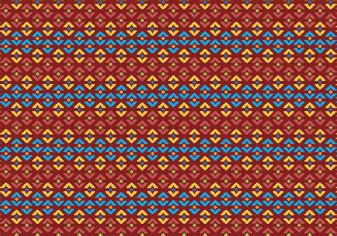indonesian pattern free vector pattern of indonesian songket illustration 2 free vector