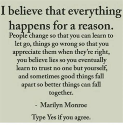 everything happens for a reason and other lies i ve loved books i believe that everything happens for a reason