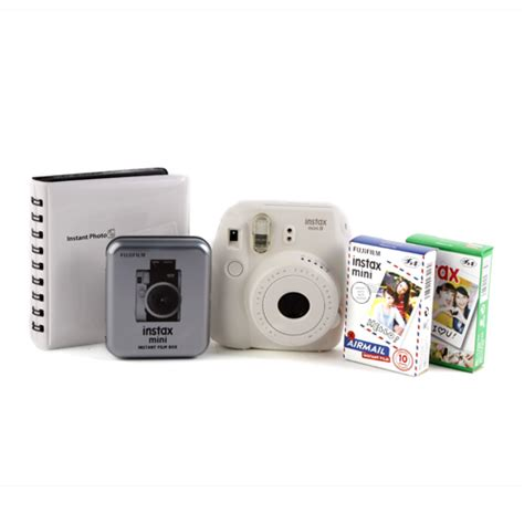 Limited Edition Tripod Mini Fdt 20cm Holder U fuji instax mini 8 value bundle white