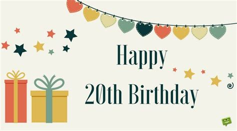 20th Birthday Quotes For Friends 20th Birthday Wishes Quotes For Their Special Day