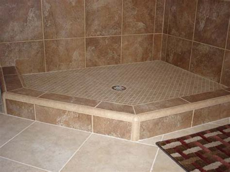 How To With A Shower by Shower Curb Shower Dam Or Threshold For Tile Showers Tile Your World