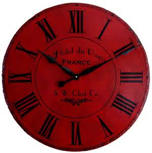 Large Wall Clocks 36 In Large Wall Clock Hotel By Klocktime