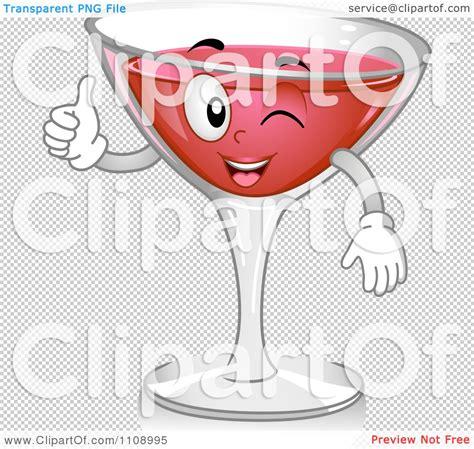 cosmopolitan clipart clipart cosmopolitan cocktail mascot holding a thumb up