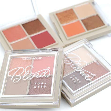 Eyeshadow Etude House etude house blend for4 review