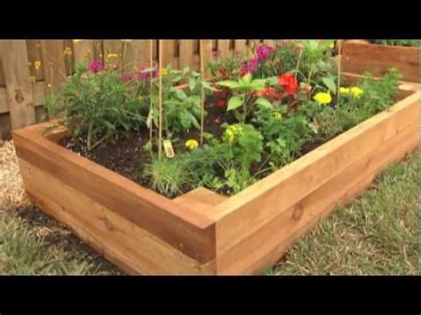 How To Build A Raised Garden Bed With Sleepers by How To Build A Raised Garden Bed Everybody Tuscany