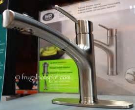 Costco Kitchen Faucet Costco Sale Water Ridge Style Pull Out Kitchen Faucet 59 99 Frugal Hotspot