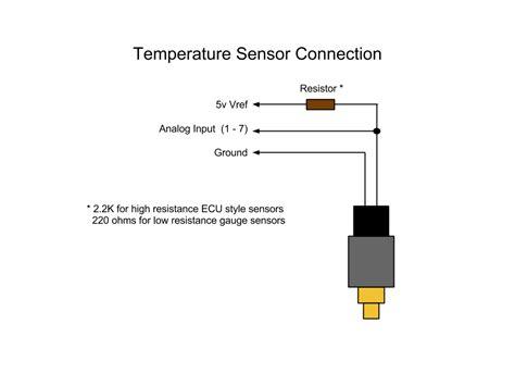 car engine temperature wiring diagram get free