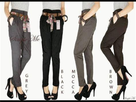 Promo Celana Bahan Untuk Kerja Ukuran Xl Xxxl Xxxxl Xxxxxl celana panjang toko baju murah