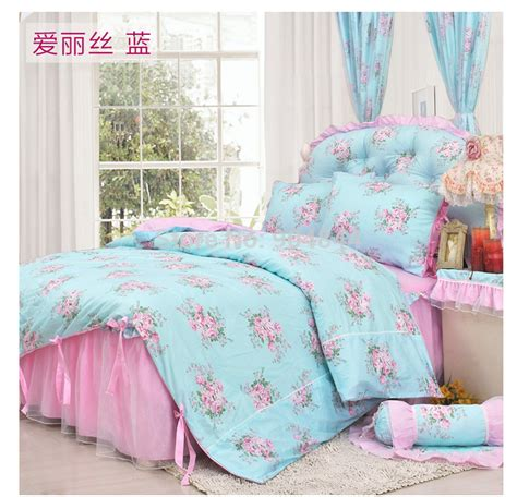 bedroom set twin size girls price 800 in summerville georgia cannonads com girls blue pink ruffle romantic princess bedding sets 4pcs