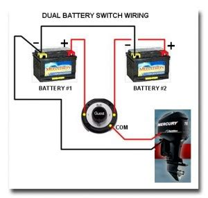 dual battery selector switch boat wiring easy to
