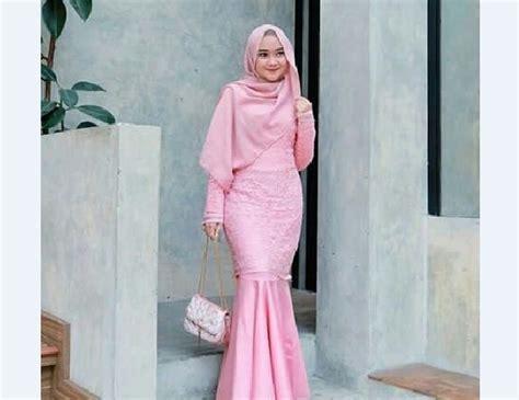 inspirasi baju kebaya muslim  terbaru