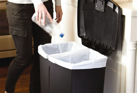 kitchen trash can recycle bin combo simplehuman recycling bins recycling containers