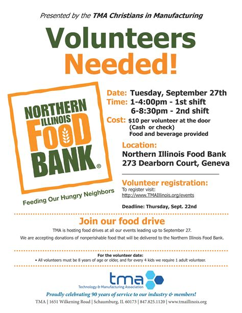 Northern Illinois Food Pantry by Volunteers Needed For Northern Illinois Food Bank