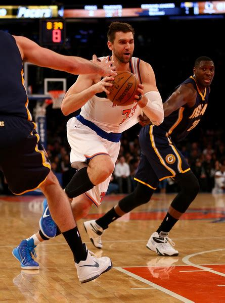 Indiana Pacers Vs New York Knicks 2 by Andrea Bargnani Photos Photos Indiana Pacers V New York