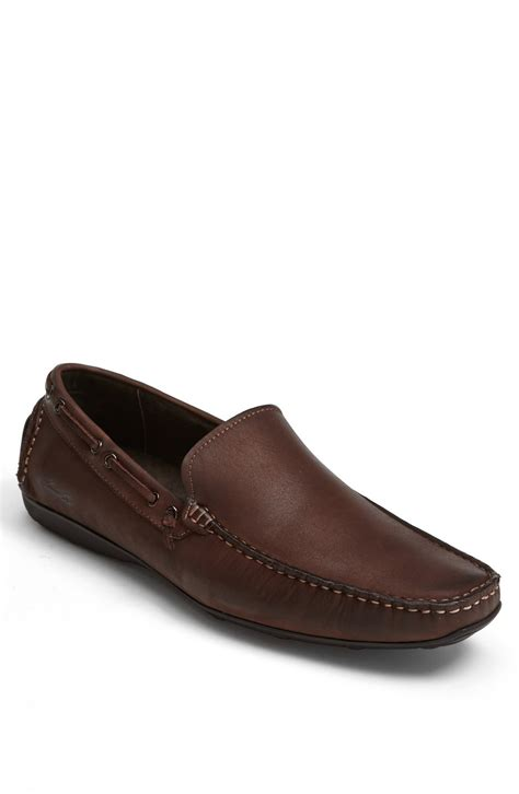 n shoes kenneth cole all n only driving shoe in brown for