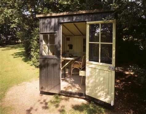 view   rotating writing shed   garden  shaws