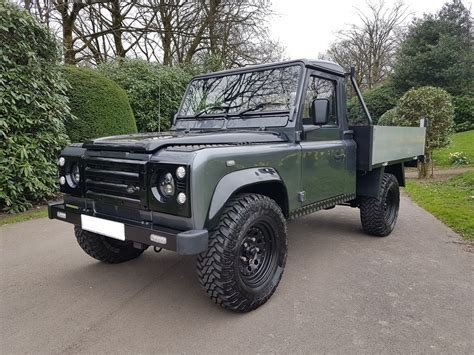 land rover 110 truck 56 plate land rover defender td5 110 tipper truck simmonites