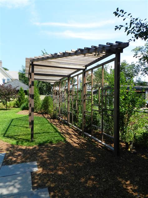 backyard trellis designs trellis designs landscape traditional with bamboo climbing