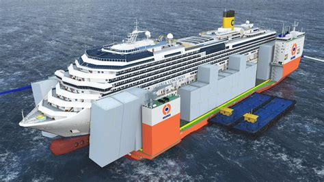 Mba Concordia Cost by Dockwise Vanguard Das Mega Halbtaucherschiff Als Costa