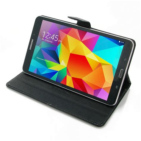 Samsung Tab 4 8 0 samsung galaxy tab 4 8 0 leather smart flip carry cover pdair