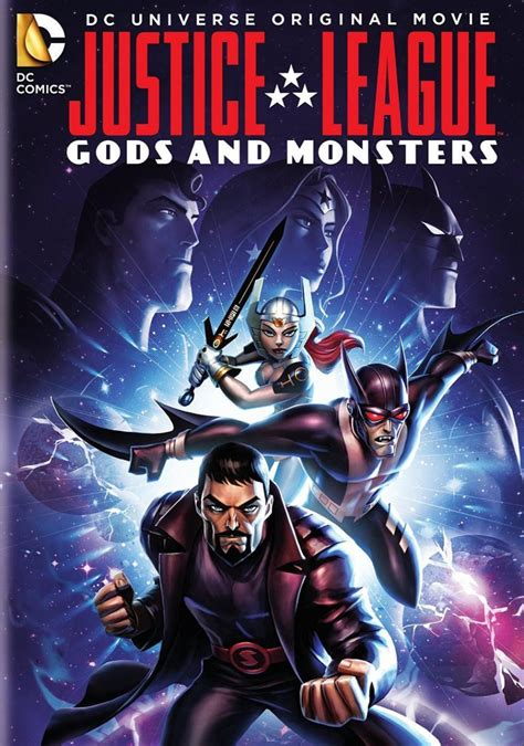 film justice league gods and monsters la liga de la justicia dioses y monstruos 2015