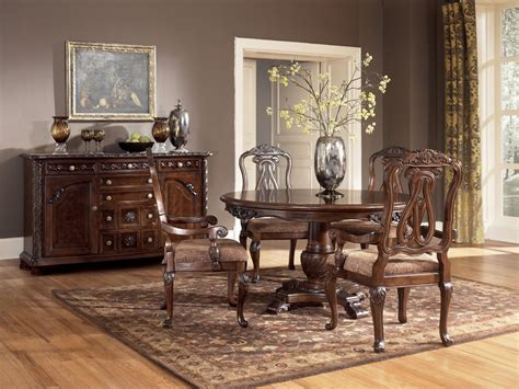 north shore dining room set buy north shore round dining room set by millennium from