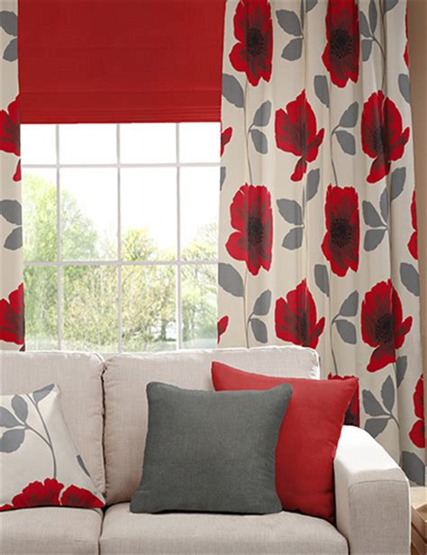 poppy curtains curtain details for poppy red next made to measure