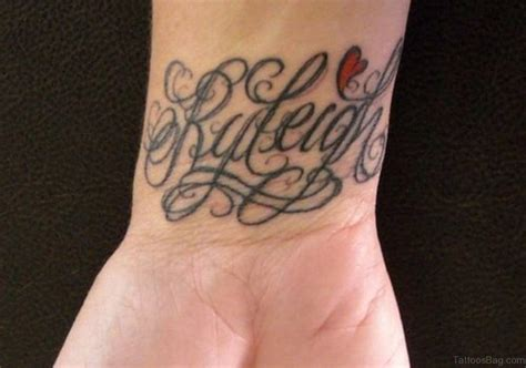 word tattoo designs 70 interesting name tattoos on wrist