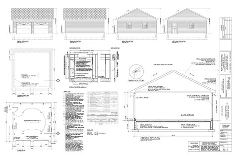 garage construction plans the garage building process