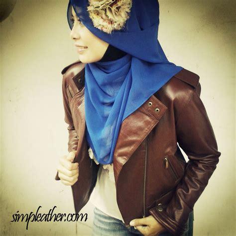 Jaket Semi Kulit Wanita Simple Rib jaket kulit wanita tipe wx107 simple leather