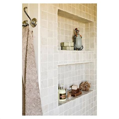bathroom alcove shelves gap interiors alcove shelves in modern bathroom