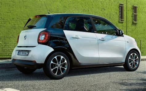 auto 4 porte smart 4 porte 2015 prezzi e allestimenti la tua auto